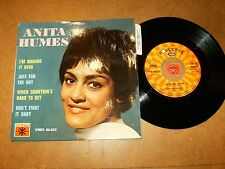 ANITA HUMES  - EP FRENCH ROULETTE 65023  / LISTEN - SOUL GIRL POPCORN