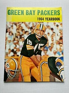 SCARCE 1964 GREEN BAY PACKERS YEARBOOK, SUPER CLEAN ESTATE FIND FREE SHIPPING