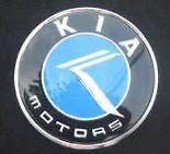 KIA CARNIVAL 2000-2005 2.5L GENUINE BRAND NEW Rear Trunk Lid K Logo Blue Emblem