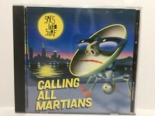 SPIES WHO SURF Calling All Martians CD Monsterdisc 1993