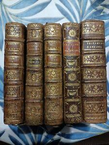 Lot livres anciens 18eme