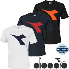 T-Shirt Maglietta Magliettina DIADORA Uomo Manica Corta Cotone S M L XL XXL XXXL