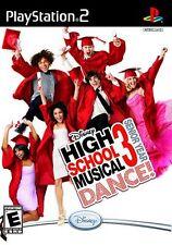 PS2 High School Musical 3: Senior Year Dance! Video Game Dancing Troy Gabriella