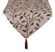 Ashley Mills Runner Leaf Jacquard 33cm x 177cm 100% Polyester Dining Table Linen