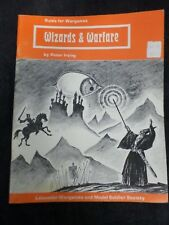 Wizards & Warfare Leicester Wargames and Model Soldier Society 1976  LL 402