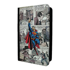 DC Superhero Comic Book Passport Holder Case Cover - Superman - S-G735
