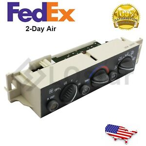 HVAC Control Module Fits 96 99 Chevrolet K1500 Pickup Tahoe 599-006