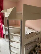Bunk Bed with desk and pull out sofa bed