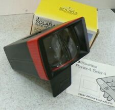 PHOTAX SOLAR 4 SLIDE VIEWER - BOXED & With Instructions