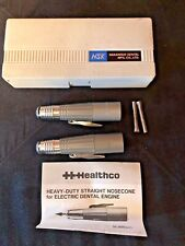 NSK VH-E Healthco Dental Lab Handpiece Nosecone Motor (Lot of 2) Great Condition