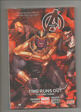 Avengers: Time Runs Out - Vol 3 Hardcover Thanos Cover - (Sealed)