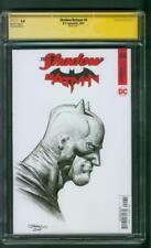 Batman Shadow 1 CGC SS 9.8 Johnny D Original art Virgin Sketch Patterson Movie