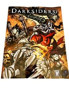 DARKSIDERS Limited Graphic Novel Art Book/Comic-POSTER included-2009