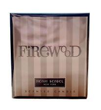 "RARE Henri Bendel ""Firewood"" candle 9.4 OZ. NEW IN BOX"