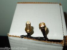 "*USA* 20cm 8"" RP-SMA Male to RP-SMA Female Bulk Head Jumper Cable RG-316"