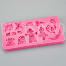 Multi Moule silicone Baby toys cuisson cuisson Chocolat Cupcake Glace Cake Topper