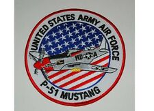 US ARMY Mighty Eighth 8 USAAF p-51 Mustang Jersey JERK NOSE ART Parche WK2#1