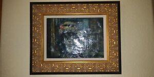Jean Calogero (Italain 1922-2001) Original Signed Oil Painting - Carnival Scene
