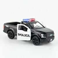 Ford F-150 Police Pickup Truck 1:36 Model Car Diecast Toy Kids Gift Pull Back