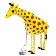 Big Size Walking Giraffe PVC Balloons Birthday Party Children Pet Animal Toy