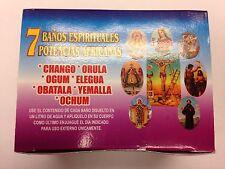 7 AFRICAN POWERS BATH (7 BANOS ESPIRITUALES POTENCIAS) 7 DAY SPIRITUAL BATH SET