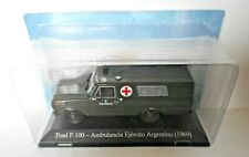 DIE CAST FORD F-100 - AMBULANCIA EJERCITO ARGENTINO (1969)1/43