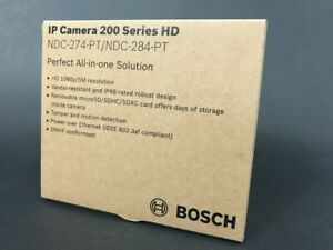 Bosch NDC-274-PT Outdoor Microdome Network Camera.