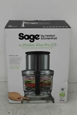 SAGE Silver Kitchen Wizz Pro 3.7L 2000W Food Processor Blender BFP800UK BNIB