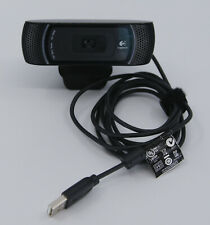 Logitech HD Pro Webcam C910 1080p USB Carl Zeiss Tessar Video Web Camera