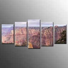 FRAMED Canvas Wall Art Home Decor Karst Topography Stretched Canvas Prints-5pcs