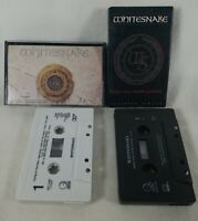1987-89 Lot of 2 Whitesnake Audio Cassette Tapes Self Entitled & Single See Pics