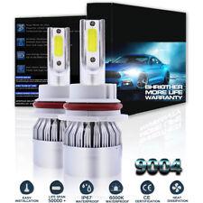 C6 9004 HB1 LED Headlight Kit For Dodge RAM 1500 2500 3500 1994-2001 Hi/Lo Beam
