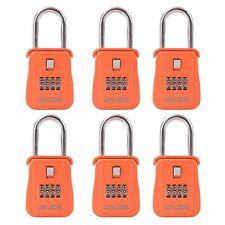 New listing 1500 Key Storage Realtor Lock Box Set Your Own Combination 6 Pack Orange