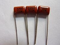 200PCS CL21 333K 250V 0.033UF 33NF P8 Metallized Film Capacitor