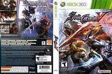 SoulCalibur V (Microsoft Xbox 360, 2012)
