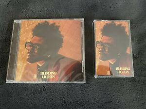 The Weeknd Blinding Lights 2020 UK Cassette & CD Single Set BRAND NEW