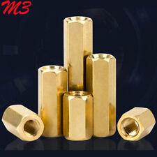 M3 Brass Female Hex Column PCB Board Isolation Standoff Support Spacer Pillar