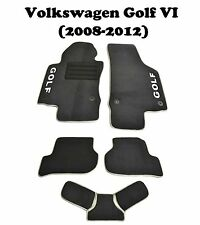 VW Golf 6 2008-2012 GTI 3d 5d Fully Tailored Carpeted Car Floor Mats Custom Fit