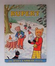 Original 1974  RUPERT BEAR Annual   - with original price and no inscription