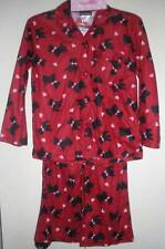 Joe Boxer Girls Flannel Pajama set Sleepwear SET Size 6X NWT (Dogs )