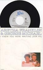 "7 ""Single Aretha Franklin - i knew you were waiting"