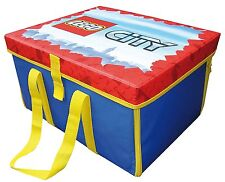 Lego City Storage Toy Box (Zip Bin) & Playmat (2 in 1) Neat-oh!!