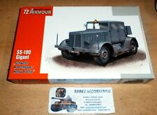 WWII german Schwerer Radschlepper SS-100 Gigant  1:72 Special Hobby  SA72001