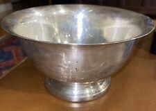 Vintage Sterling Silver Paul Revere By Poole Bowl 233 Grams