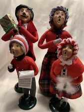 "Byers' Choice Vintage 1992 ""The Carolers"" Family of 4 11"