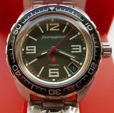 Vostok Mechanical Automatic Komandirskie. Russian Military Watch Diving 200 M