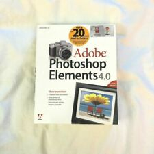 Adobe  Photoshop Elements 4.0 New,sealed in Box