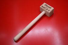 Wooden Laser Engraved Meat Hammer Tenderiser Beat Your Meat