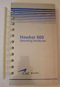 Hawker 800 Original Simuflite Operating Handbook