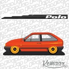 VW Mk2 polo side decals (Please state colour on purchase)
